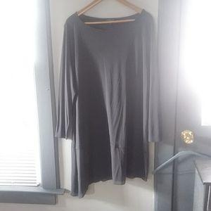 Eileen Fisher Assymetrical Tunic